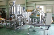 syrup coating equipment